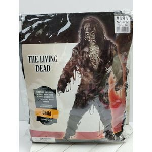 4/$20 Halloween Zombie Costume Night living dead